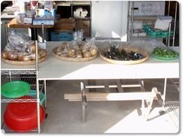 西村農園の直売所