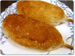 アメリカンドック風米粉パン