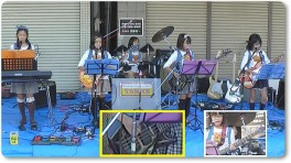 TANNS-2ndライブ@加茂市穀町商店街in20141018-五月雨20ラブ
