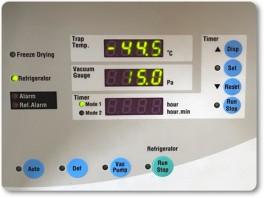 フリーズドライの温度計